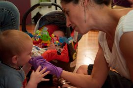 Craniosacral Therapy for Children- Babies love mouth work